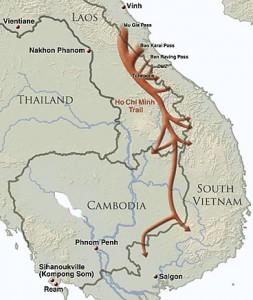 De Ho Chi Minh route van Noord- naar Zuid-Vietnam
