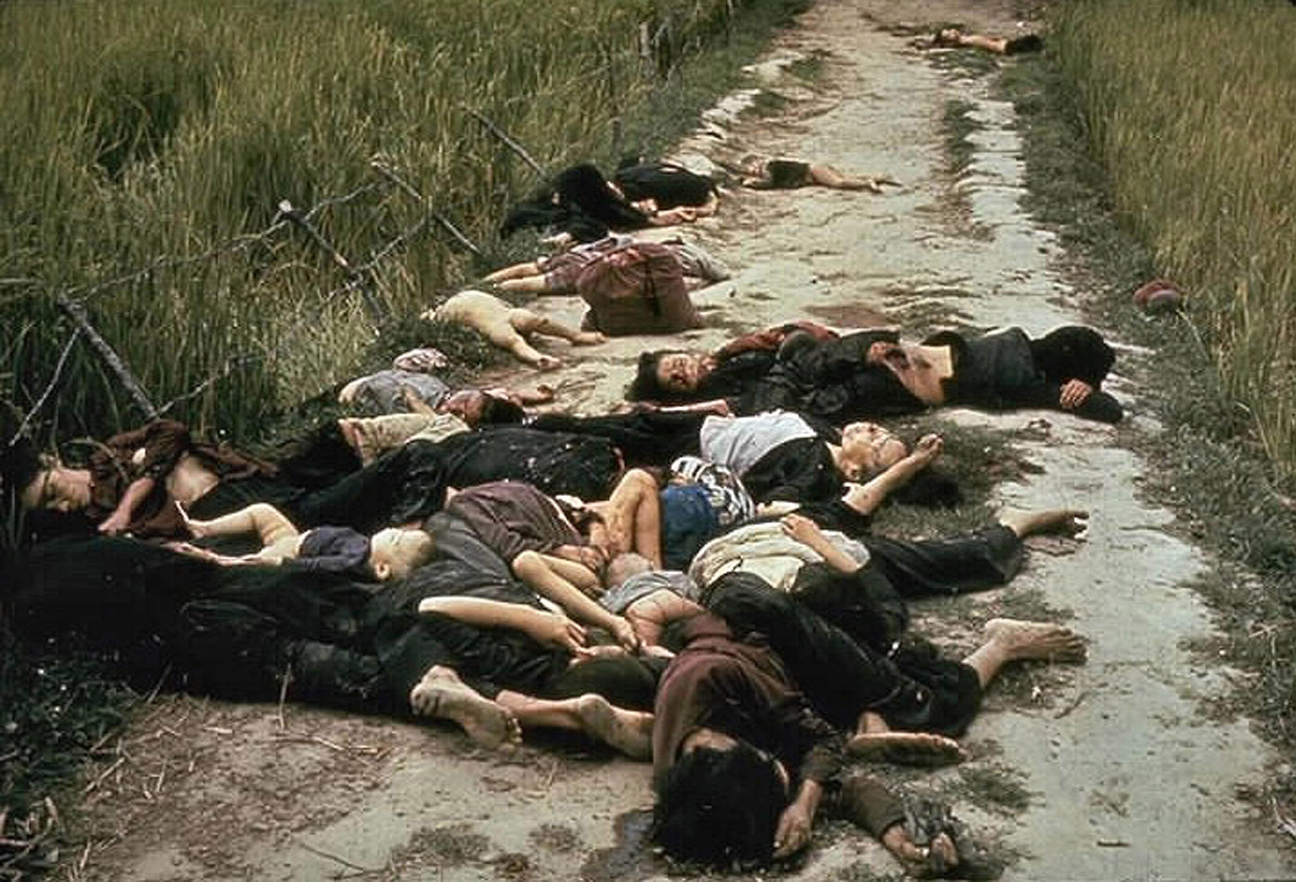Slachtoffers van de My Lai massamoord
