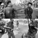 De Zuid-Vietnamese generaal Nguyen Ngoc Loan executeert Nguyen Van Lem van zodra hij bij hem gebracht wordt.