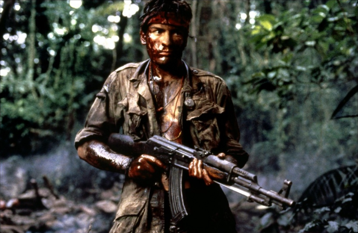 Charlie Sheen in Platoon