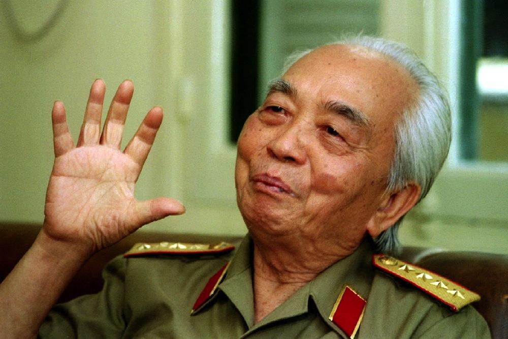 Generaal Vo Nguyen Giap